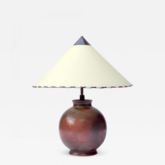 Fritz Haussmann Ceramic Lamp, Switzerland, 1930s For Sale - Image 10 of 10