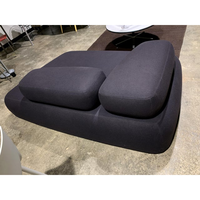Classic Bubble Rock Sofa Italian designed by Piero Lissoni. Never owned Floor model. Made of felted wool on a steel frame....