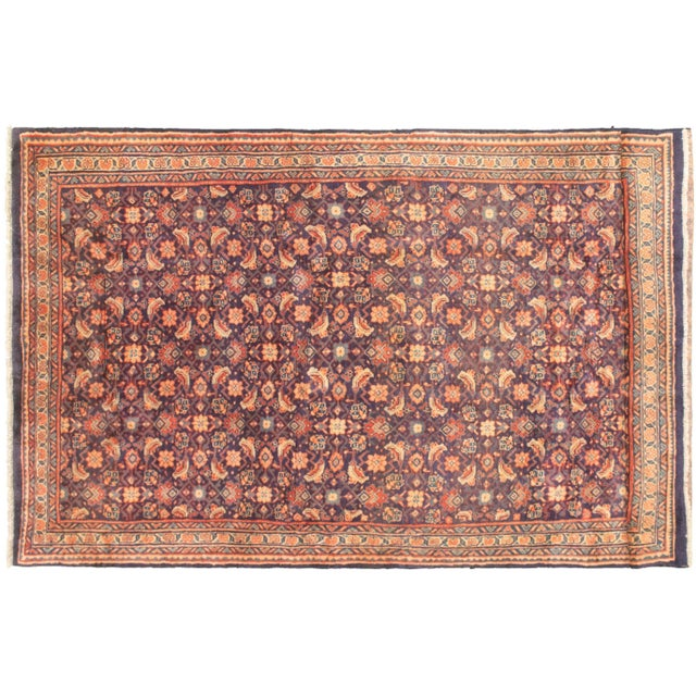 - One-of-a-kind handmade rug — only one in stock. - 100% wool. - Handmade rugs are typically perfectly imperfect -...