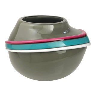 1980s Japanese Fujimori for Kato Kogei Vase For Sale