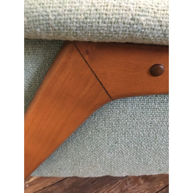 Turquoise Mid-Century Dux Style Lounge Chair For Sale - Image 8 of 11