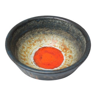 Swedish Modern Studio Pottery Bowl For Sale
