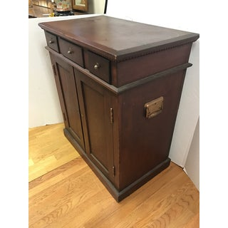 1920s Traditional Printers Flat File Cabinet Chest Preview