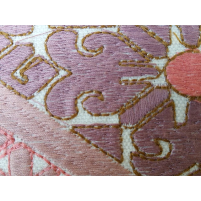 Embroidered Opulent Lumbar Pillow - Image 4 of 5
