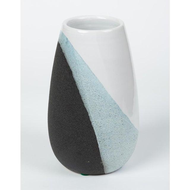 Ceramic Glazed Ceramic Vase by Ettore Sottsass for Bitossi For Sale - Image 7 of 12