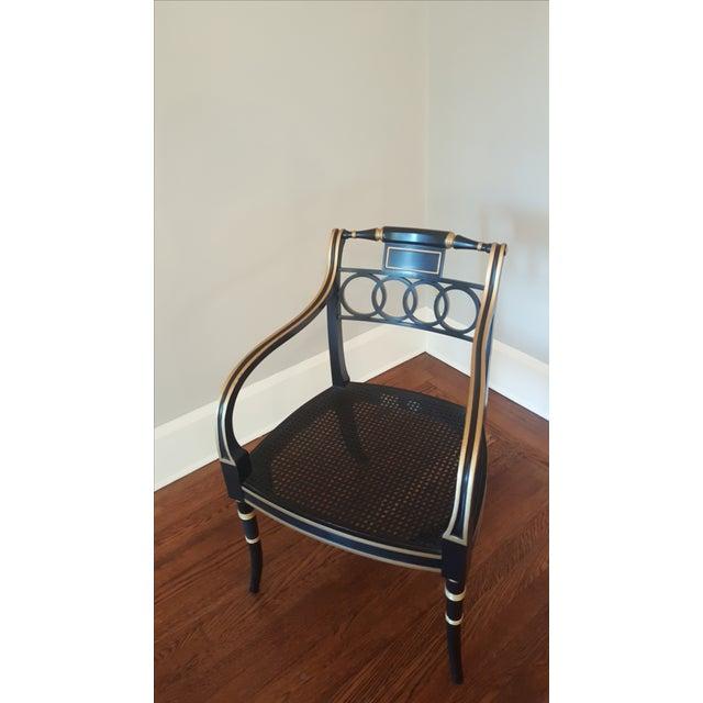 Historic Charleston Governor Alston Chairs - Pair - Image 5 of 5