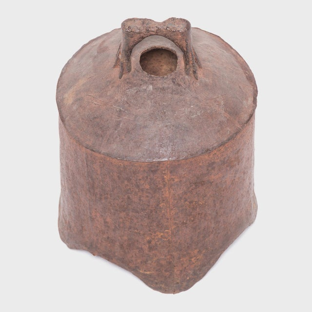 Mid 19th Century 19th Century Provincial Chinese Iron Bell For Sale - Image 5 of 6