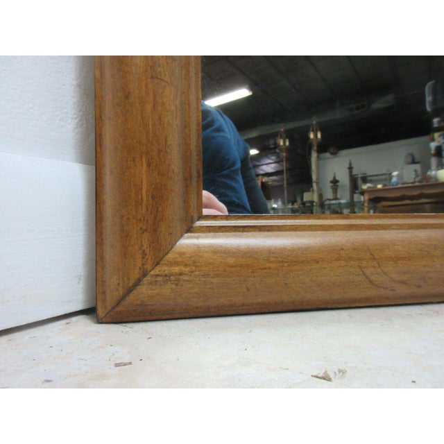 1776 Ethan Allen Dresser Hanging Wall Mirror For Sale - Image 5 of 10
