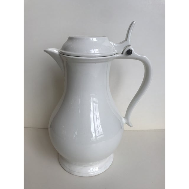 Ceramic 20th Century Red Cliff Ironstone Coffee Pot For Sale - Image 7 of 7
