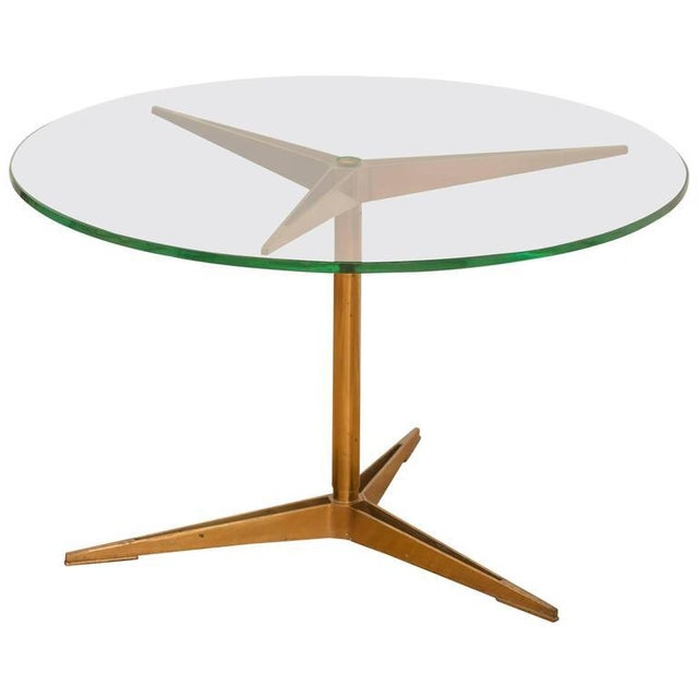Ico Parisi Brass Occasional Table - Image 6 of 6
