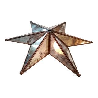 Star Shaped Chandelier Crown Ceiling Cap