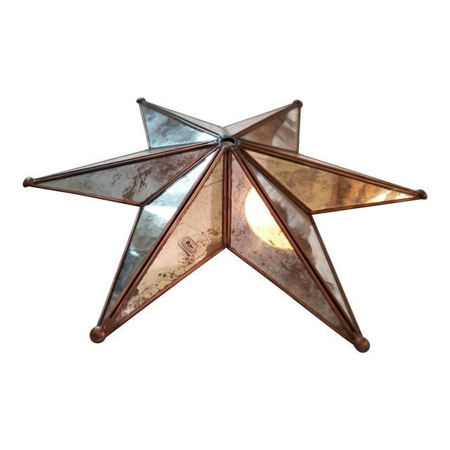 Star shaped chandelier crown ceiling cap chairish star shaped chandelier crown ceiling cap aloadofball Image collections