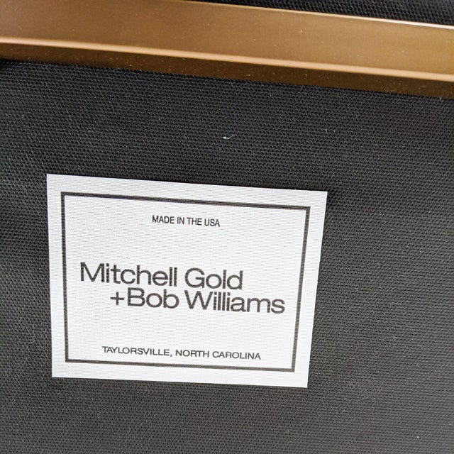 Mitchell Gold + Bob Williams Major Leather Chairs - a Pair For Sale - Image 12 of 13