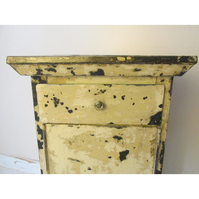 Antique French Shabby Chic Nightstands - A Pair - Image 5 of 10