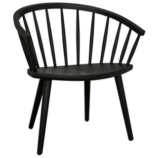 Pauline Chair, Charcoal Black For Sale