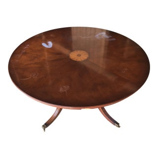 English Inlaid Bevan Funnel Artisan Table