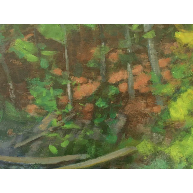 Stephen Remick Original Painting of a River in Vermont For Sale - Image 4 of 6