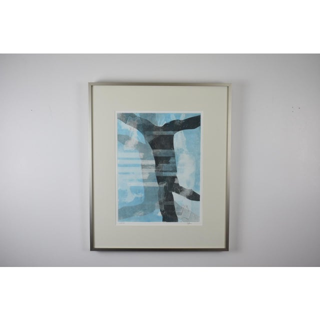 'Louisa' Monotype Print by Joan Ffolliott For Sale In New York - Image 6 of 6