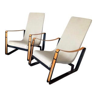 Jean Prouve Cite Lounge Chair For Sale