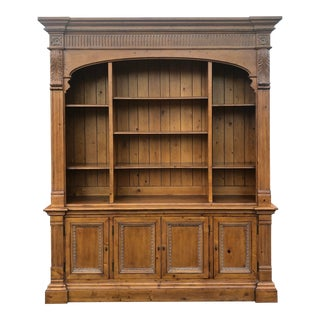 Ethan Allen Townhouse Collection Arched Bookcase For Sale