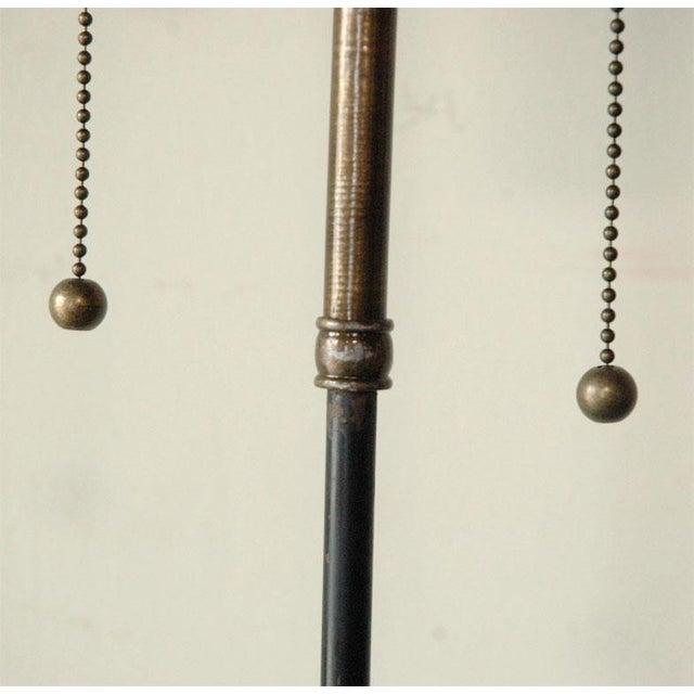Gold Obelisk Table Lamp For Sale - Image 8 of 10