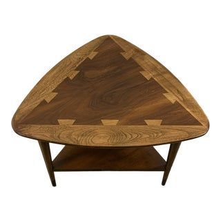 Mid-Century Modern Lane Acclaim Guitar Pick End Table For Sale