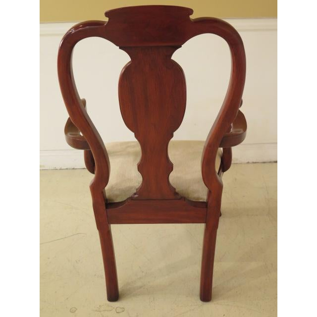 Henkel Harris Ball & Claw Cherry Dining Room Chairs - Set of 8 - Image 6 of 11