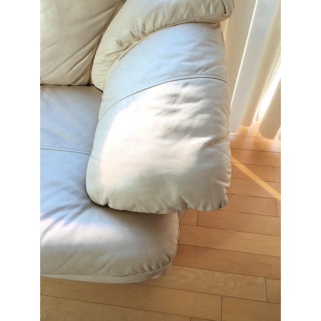 Natuzzi Italian Leather Sofa - Image 9 of 11