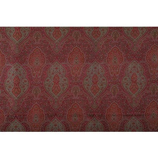 Hand Woven Wool Paisley Fabric From Royale Himalayan Possessions - 5 Yards For Sale