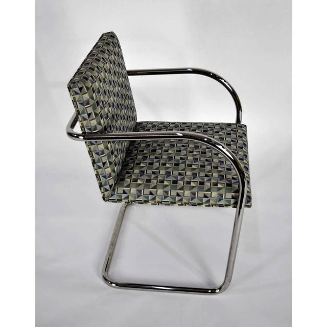 Animal Skin Tubular Brno Chairs by Knoll - Set of 10 For Sale - Image 7 of 10