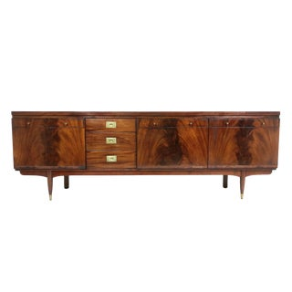 A Large Mid Century Modern Credenza or Media console by Greaves & Thomas