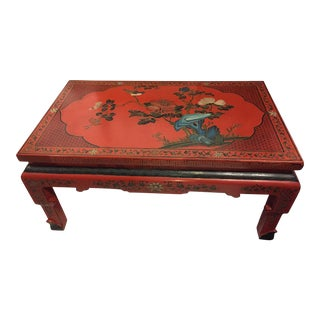 20th Century Chinoserie Coffee Table For Sale