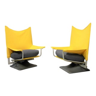 Aeo Chairs by Paolo Deganello, Archizoom Cassina - a Pair