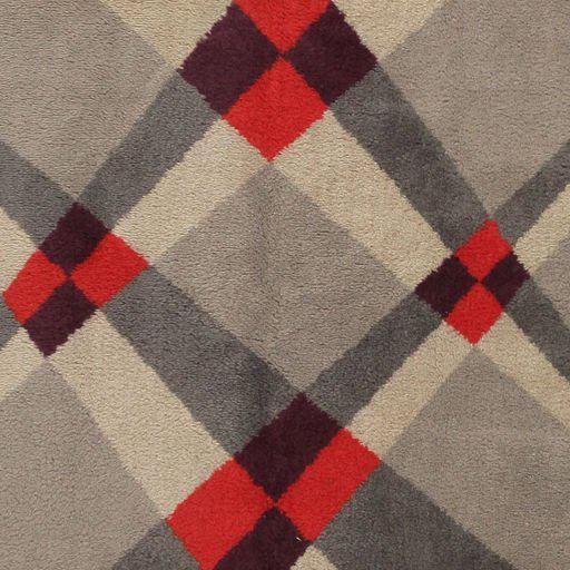 Art Deco Vintage French Art Deco Carpet by Pierre Cardin - 6′9″ × 9′2″ For Sale - Image 3 of 10