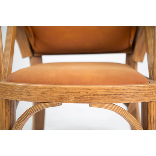 Norman Ridenour Bentwood Low Armchairs - A Pair For Sale In Los Angeles - Image 6 of 13