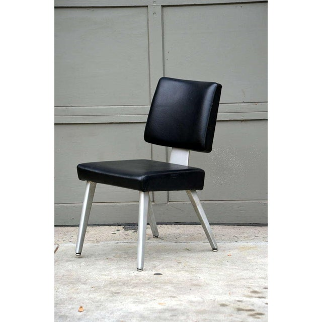 Aluminum Pair of Vintage Gf GoodForm Aluminum Task Chairs For Sale - Image 7 of 10