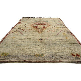 Vintage Berber Moroccan Azilal Rug with Tribal Style Preview