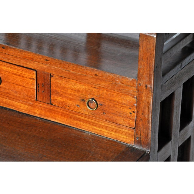 Art Deco Desk with Drawers For Sale - Image 9 of 11