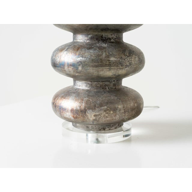 Pagoda Table Lamp For Sale - Image 4 of 5