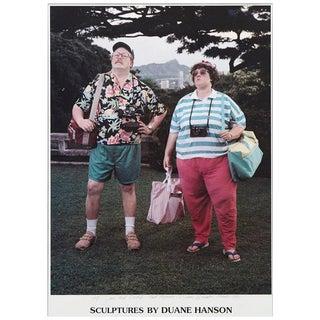 Duane Hanson, Signed Poster, Sculptures by Duane Hanson, 1990 For Sale