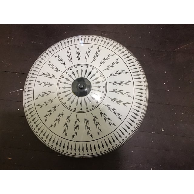 Mid 20th Century Abstract Ceiling Light Fixture For Sale - Image 10 of 10