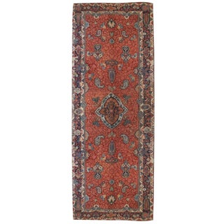 """Early 20th Century Persian Sarouk Carpet Runner - 5'8"""" x 17' For Sale"""