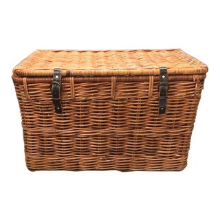 Wicker Trunk For Sale