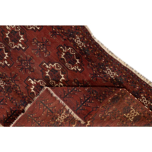 """Antique Tribal Rug, 3'1"""" X 5'4"""" For Sale In New York - Image 6 of 7"""