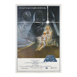 Original Star Wars 1977 American Film Poster For Sale