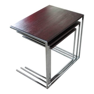 Set of Rosewood Nesting Tables