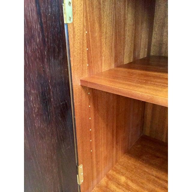 Danish Modern Rosewood 2 Door Cabinet - Image 7 of 10