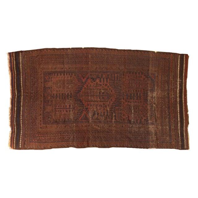 "Vintage Belouch Carpet - 4'8"" x 8'3"" - Image 1 of 9"