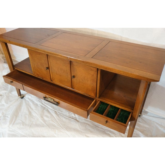 Mid-Century Modern Bar Cart - Image 8 of 8