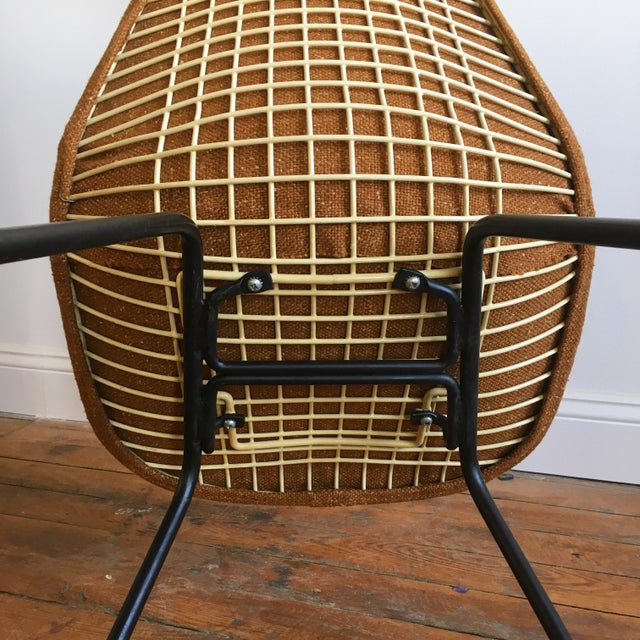 Herman Miller Eames Wire Chairs With Alexander Girard Covers - A Pair - Image 10 of 10
